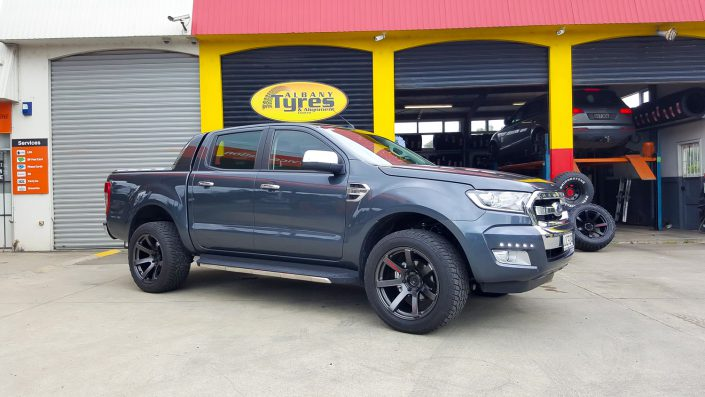 Ford Ranger Mag Wheels