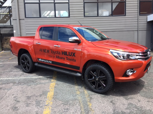 Toytoa Hilux Mag Wheels Tyres Auckland