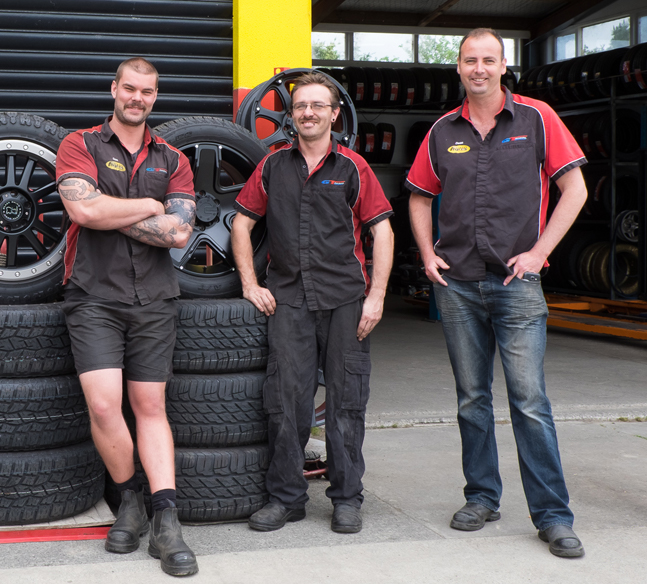 Albany Tyres Team